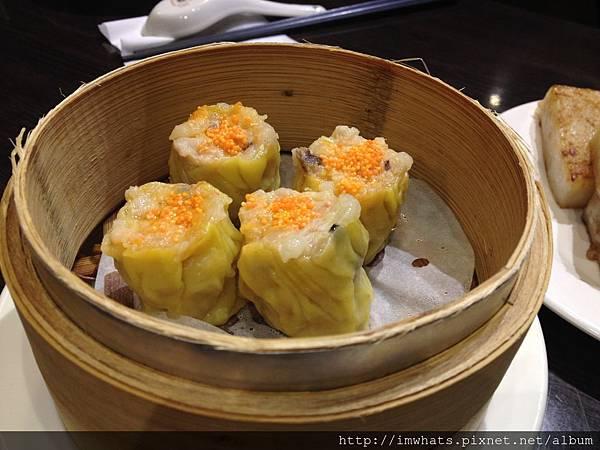 金鐘香港茶餐廳鮮蝦燒賣.JPG