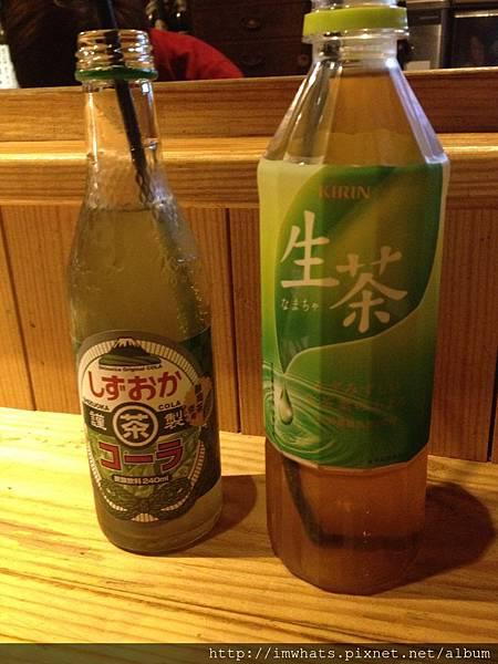 吳留手綠茶可樂.JPG