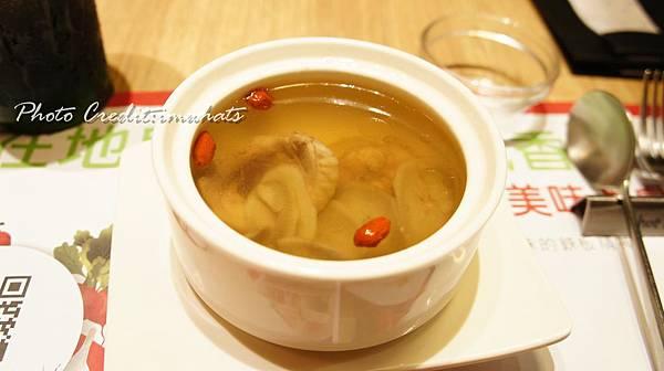 hot 7新鐵版銀杏牛蒡雞湯.JPG