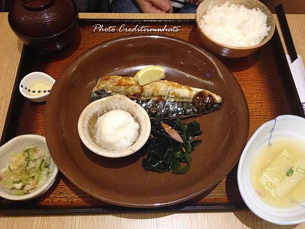 大戶屋碳烤鯖魚定食.JPG