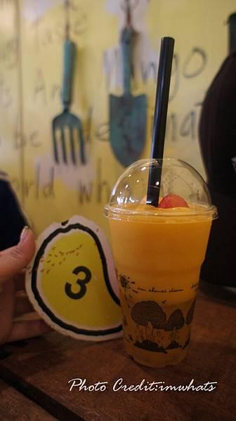 尼曼明路mango shake.JPG