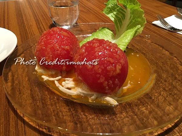 Grill Domi Kosugi鑲番茄沙拉.JPG