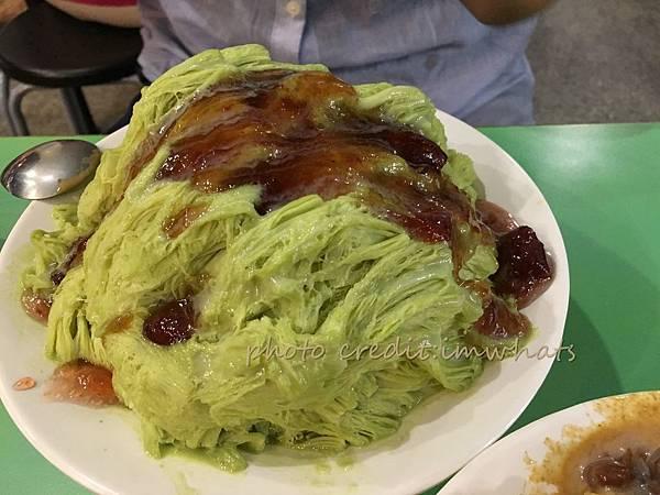 奇淋冰品草莓抹茶雪花冰.JPG