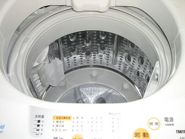 全新洗衣機耶