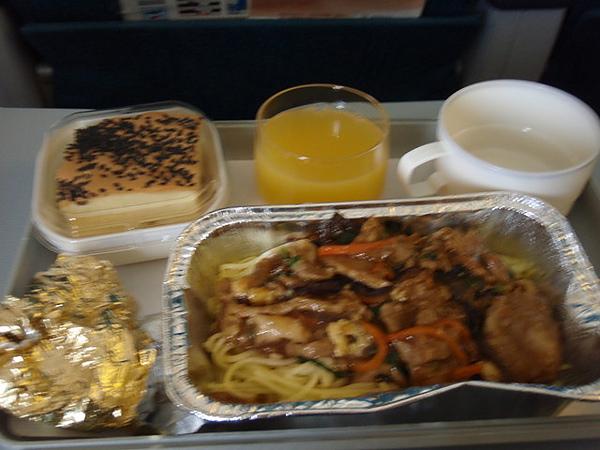 我討厭飛機餐