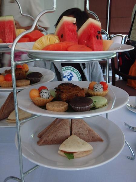 飯店的迎賓下午茶