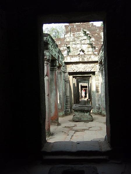 寶劍寺的迴廊