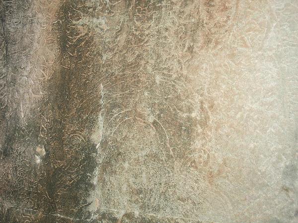 牆上的淺浮雕