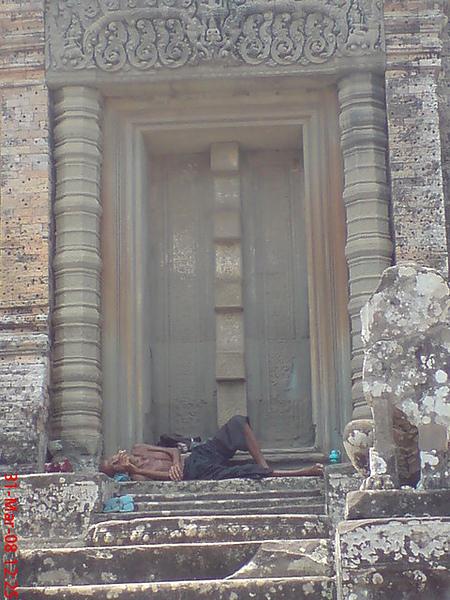 據說他是柬埔寨最老的人