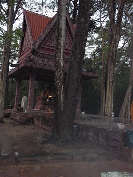 保護區內的寺廟