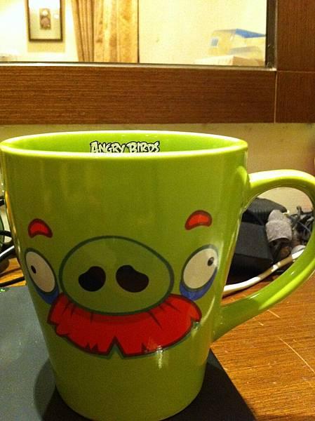 第一只入荷的杯子─鬍子豬^+++++^