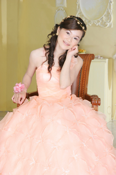 嬌羞的新娘