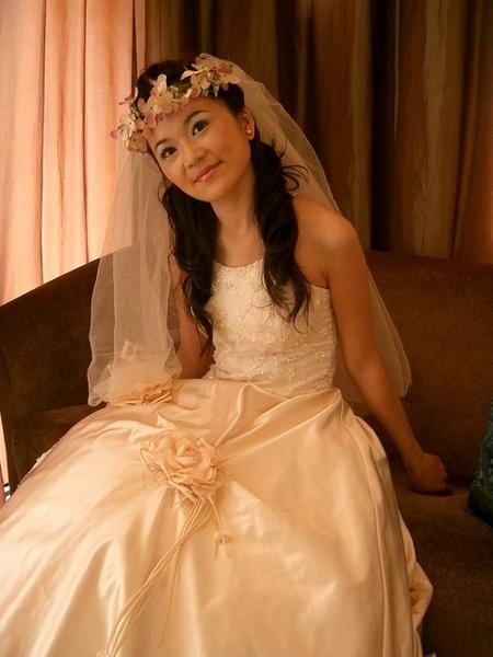 我姐像不像公主啊