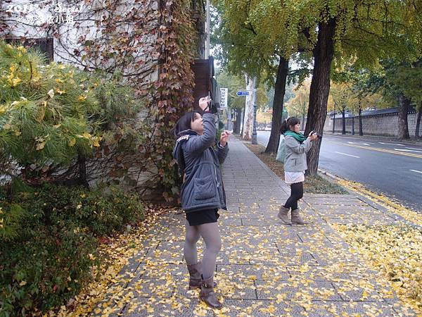 景福宮旁街景-拍的很開心