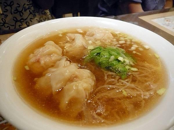 0614 英記茶餐廳- 鮮蝦餛飩麵