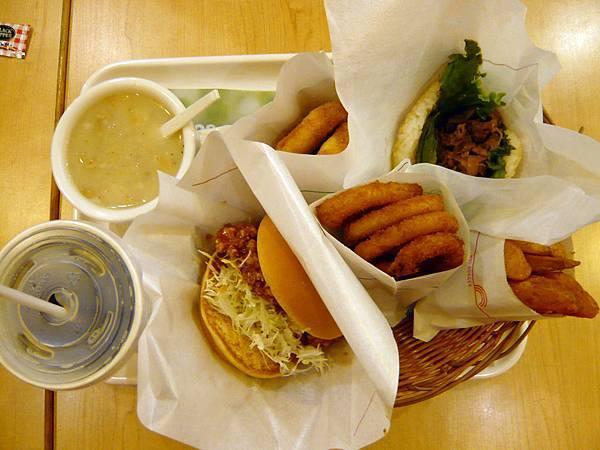 0601 摩斯漢堡- 小編全餐