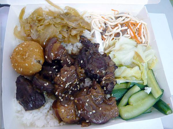 0527 一級棒餐盒- 古早爌肉飯