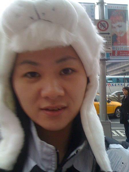 白獅子帽@車站前
