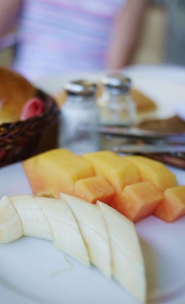 切得很美的水果唷