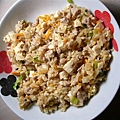 豆腐肉絲炒飯