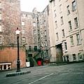 writer's museum前的廣場。