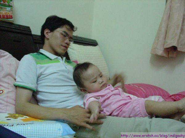 很累的S爸?