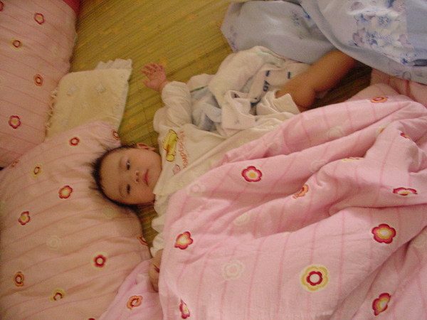 半夜吵麻麻,逼的麻麻讓SCHNAPPI一起睡