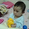 手裡拿著玩具~心裡想著下一個玩具
