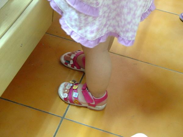 20070512 小腿 蘿蔔腿