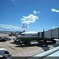 長榮跟澳航合作的直飛班機