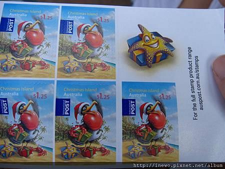 特可愛限量版郵票!
