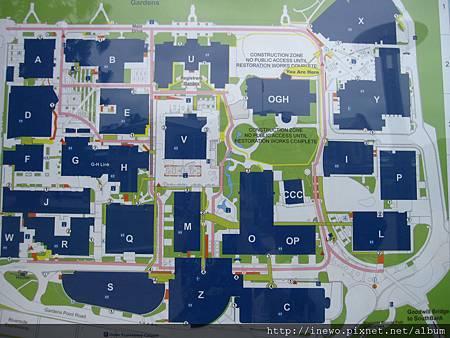 校區建築物分布圖