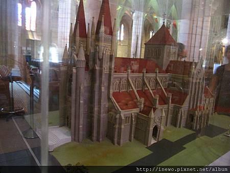 教堂整體模型
