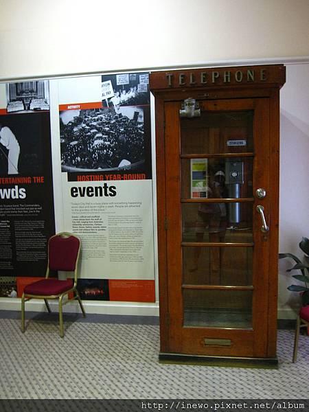 復古的電話亭