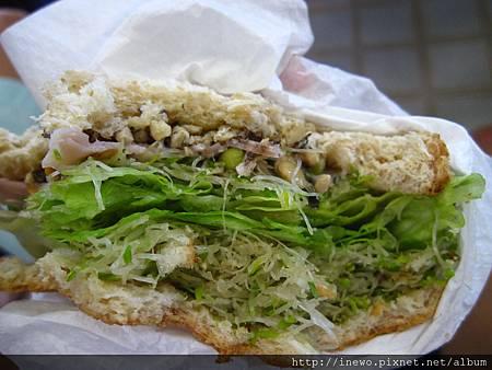 免不了三明治