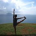 瑜珈女孩+龜山島!