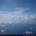 天空的雲朵超可愛~