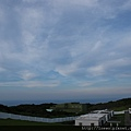 好夢幻的七彩雲