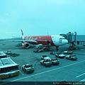 今日的大紅飛機