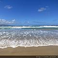 海浪超大好漂亮呢