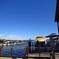就再河港碼頭邊
