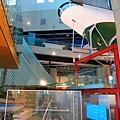 再回到博物館 但是最想看的淺水艇導覽只到三點,無緣