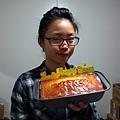 071012 黃金奶油 + 柳橙 (IRIS 生日蛋糕) (9)