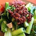肉燥燙青菜