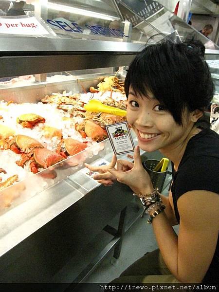 各式各樣的新鮮魚貨