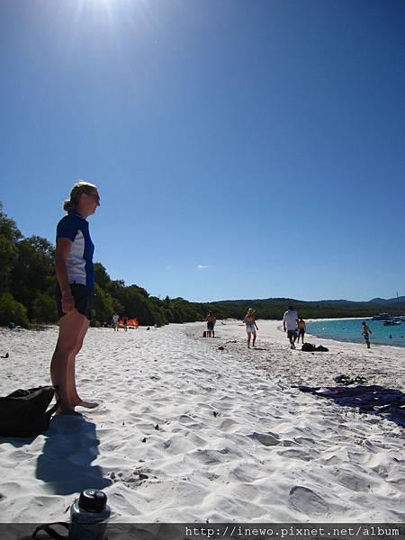white heaven beach!
