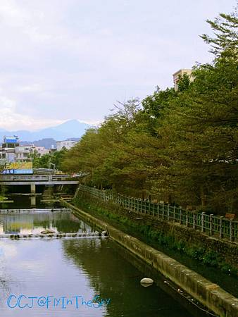 竹東鬧街的寧靜