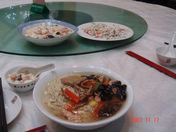 寒山寺裡的素麵、齋菜