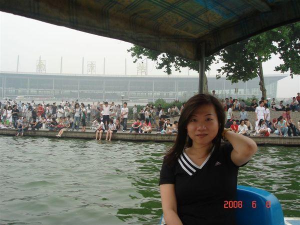 划船到南京火車站耶.JPG