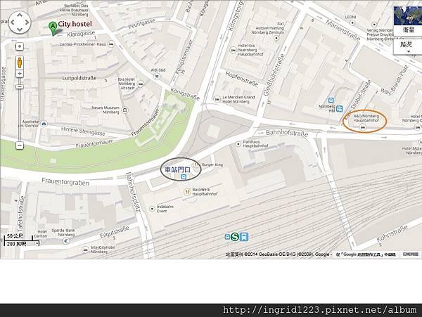 紐倫堡地圖